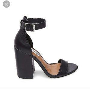 Steve Madden block chunky heel